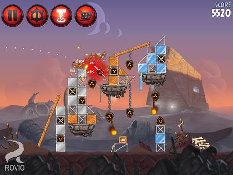 Angry Birds Star Wars 2 disponible sur l'App Store