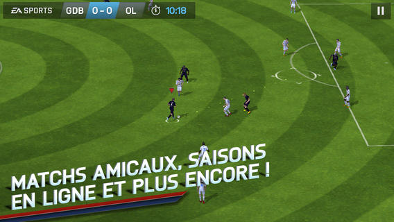 FIFA 14 disponible sur iPhone, iPad, iPod Touch