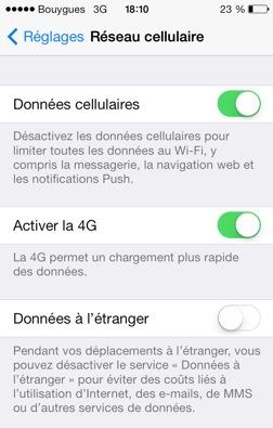 Bouygues Telecom : la 4G le 1er octobre sur iPhone 5