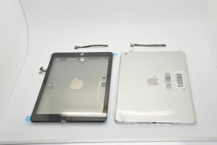 iPad 5 gris sidéral & argent : photos des coques