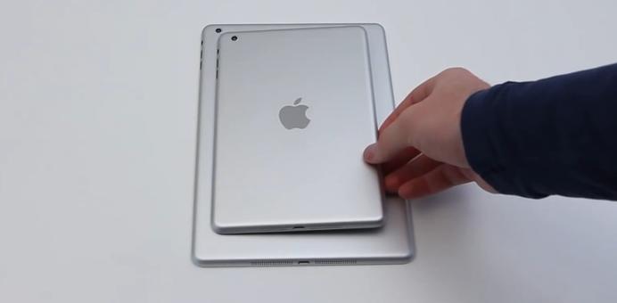 iPad 5 & iPad Mini 2 : une vidéo des coques ?