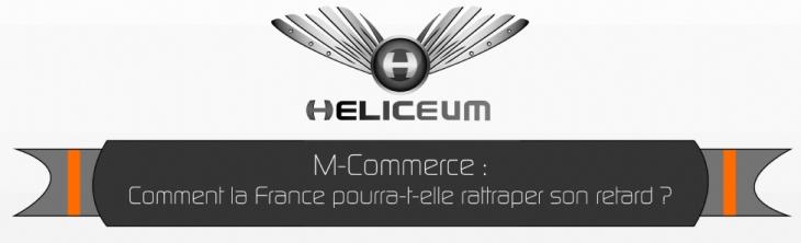 Infographie : le M-commerce en France en 2013