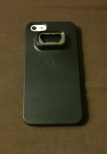Test : Coque iPhone 5/5S décapsuleur noir
