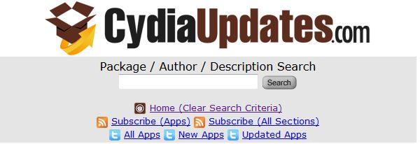 CydiaUpdates.com : toutes les applications, thèmes et tweaks Cydia