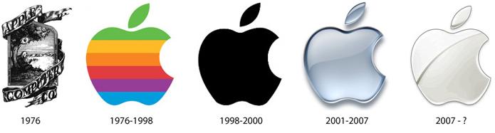 Apple : évolution du logo de 1976 à aujourd'hui
