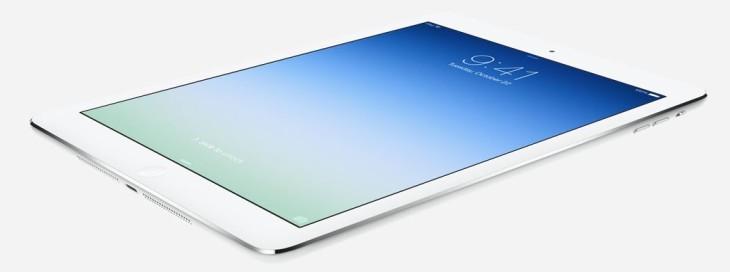 iPad Air : disponible sur l'Apple Store