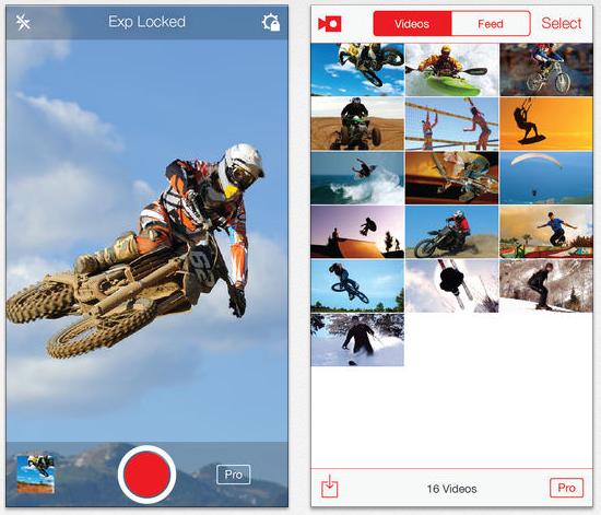 SloPro : le slow motion sur iPhone 5, 4S & 4 gratuit