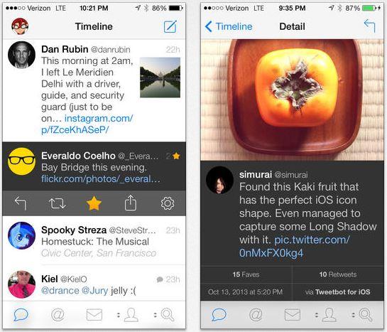 Tweetbot 3.2 : mode nuit et autres nouveautés