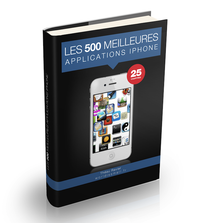 ebook les 500 meilleures applications iphone. Black Bedroom Furniture Sets. Home Design Ideas