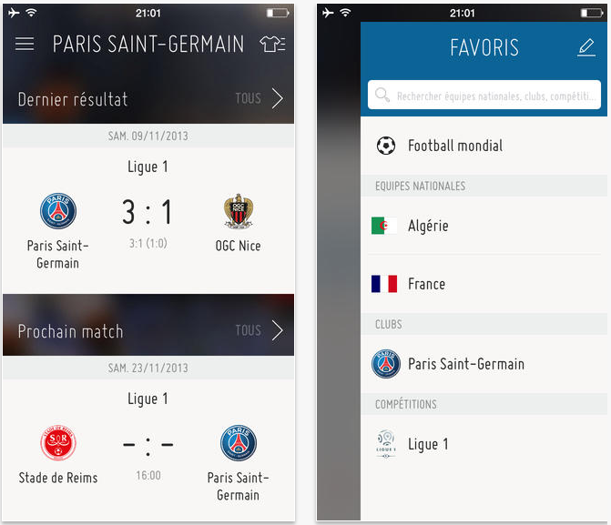 FIFA : l'application iOS de football la plus complète