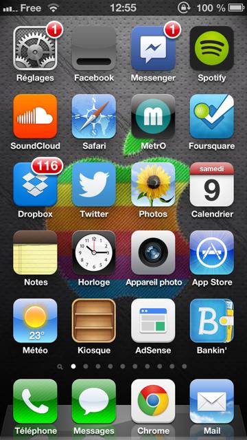 Facebook iOS 6.7.1 : icône blanche, ne la téléchargez pas !