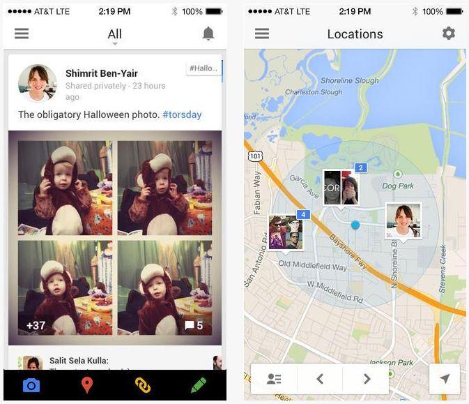 Google+ : photos et vidéos haute résolution