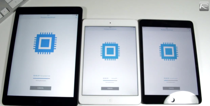 iPad Mini Retina vs iPad Air vs iPad Mini : Comparatif vidéo