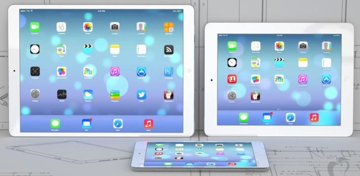 Apple testerait deux iPad 12,9 pouces 2K et 4K