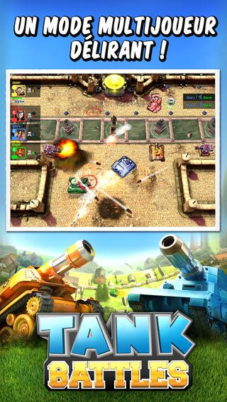 Gameloft : Tank Battles disponible sur l'App Store