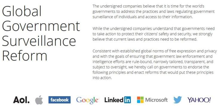 NSA : Apple, Google, Microsoft et d'autres s'allient pour une réforme