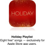 Apple Store : une playlist gratuite sur l'application US