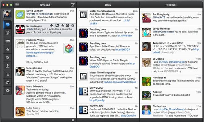 Tweetbot Mac : mise à jour corrigeant divers problèmes d'affichage