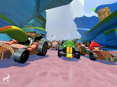 Angry Birds Go! : ajout du mode multijoueur