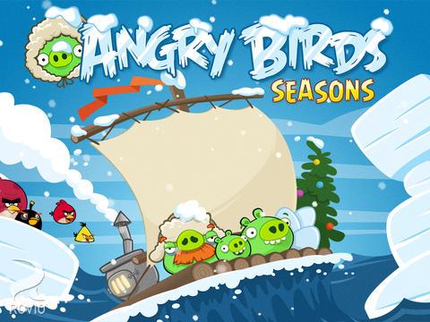 Angry Birds Seasons 4 : ajout de 25 niveaux glacials