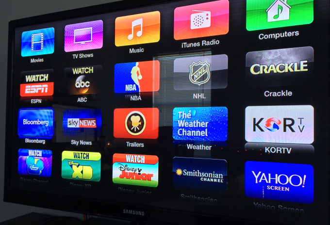 Apple TV : ajout de Bloomberg TV, Crackle et Watch ABC