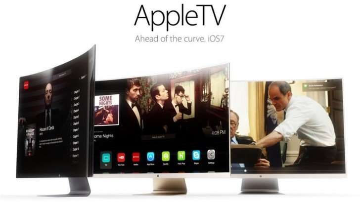 Apple iTV : nouveau concept avec écran incurvé
