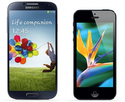Comparatif iPhone 5 vs Galaxy S4 : lequel acheter ?