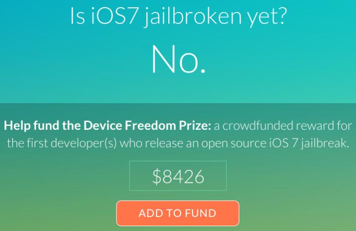 Jailbreak iOS 7 : iFixit lance isios7jailbrokenyet.com