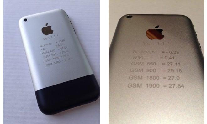 iPhone : un prototype de première génération vendu 1500 $ sur eBay