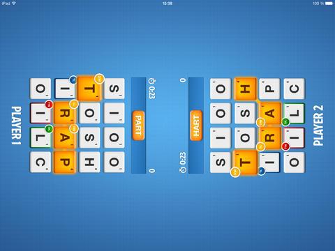 Ruzzle : 50 millions de téléchargements et support de l'iPad