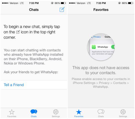 WhatsApp Messenger : design iOS 7 et autres nouveautés