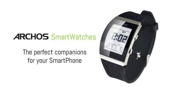 CES 2014 : Archos présente 3 smartwatches compatibles avec iOS