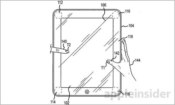Brevet Apple : des écrans iPhone & iPad sensibles à la pression