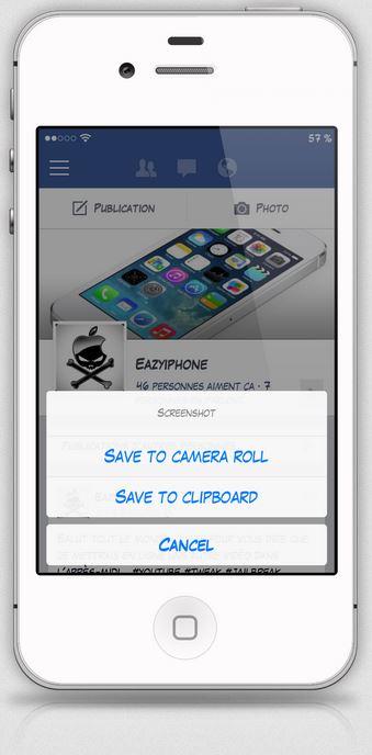 Cydia : Clipshot, améliorer les captures d'écran iOS 7