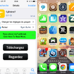 Jailbreak iOS 7 : CyDelete7, supprimer une application Cydia