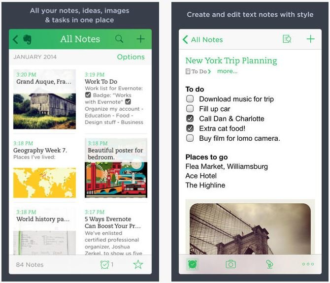 Evernote-iOS-7