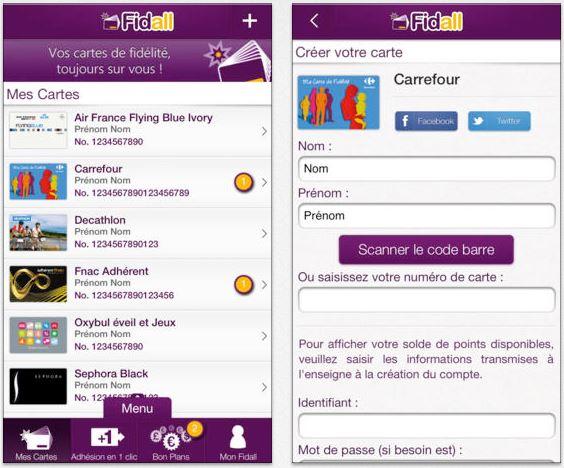 Fidall : regrouper ses cartes de fidélité sur iPhone