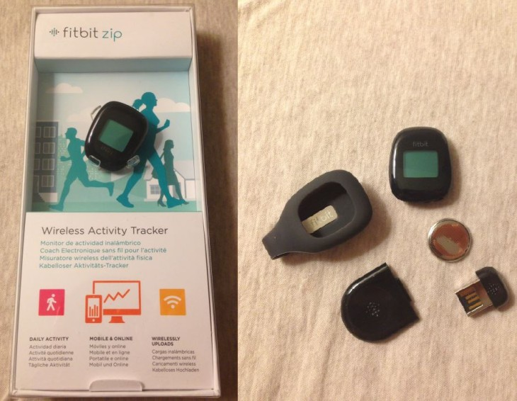 Fitbit Zip : tracker fitness sans fil connecté à l'iPhone
