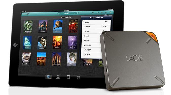 CES 2014 : LaCie Fuel, disque dur Wi-Fi 1 To pour iPhone & iPad