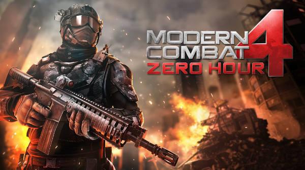 Modern Combat 4 : Zero Hour gratuit un mois sur l'App Store
