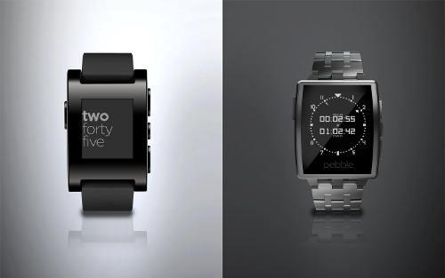 CES 2014 : Pebble Steel, la smartwatch élégante à 249 $