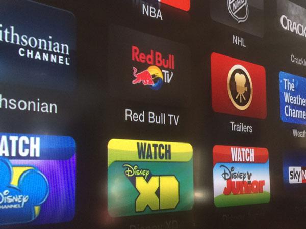 Apple TV : ajout de la chaîne Red Bull TV