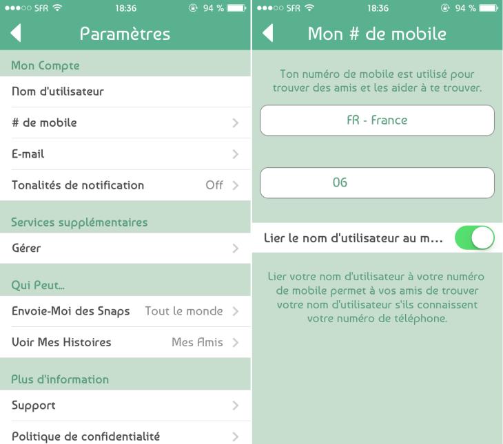 Snapchat : une mise à jour suite au piratage