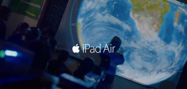 """iPad Air : 2 nouvelles publicités, """"Sound Verse"""" et """"Light Verse"""""""