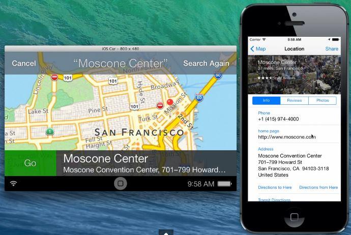 iOS in the Car : nouvelle vidéo sur iOS 7.0.3