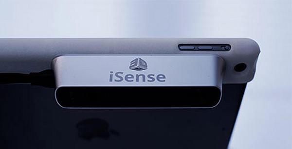 CES 2014 : iSense, transformer son iPad en scanner 3D pour 499 $
