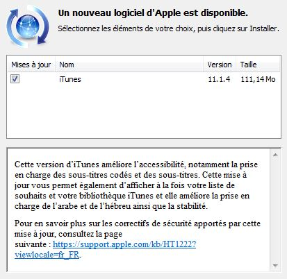 gratuitement itunes 11.1.4