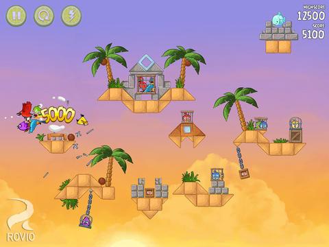 Angry Birds Rio : mise à jour en version 2.0 et nouveaux niveaux