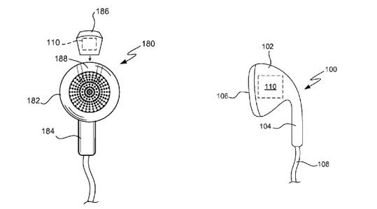 Apple : un brevet d'écouteurs équipés de capteurs de santé