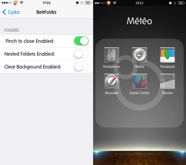 Cydia : BetrFoldr, améliorer les dossiers d'applications sous iOS 7